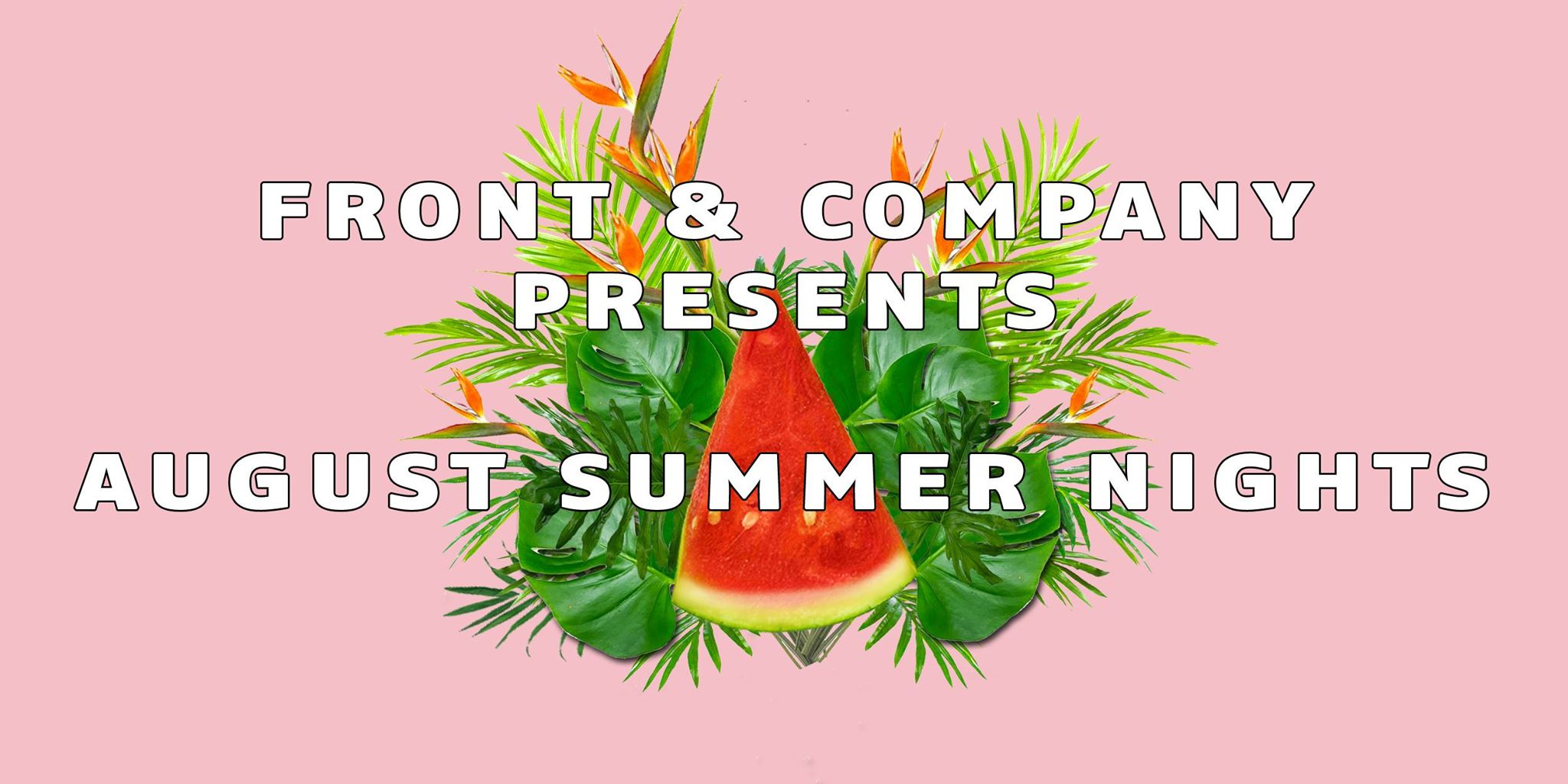 front and company summer nights