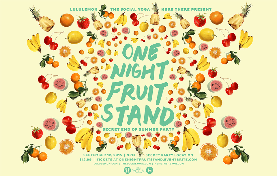 one night fruit stand