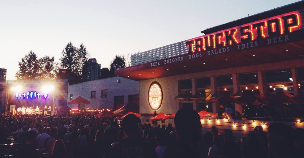 red truck brewery concert series
