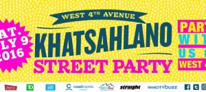 khatsahlano street party