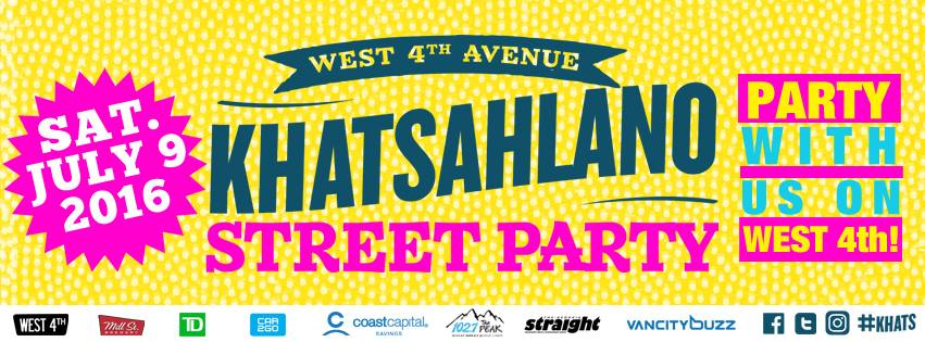 khatsahlano street party