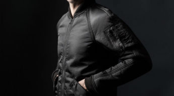 wings+horns satin sherpa outerwear