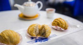 chinese dimsum turnip pastry