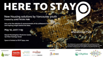 Here To Stay: Housing Solutions by Youth