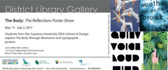 The Reflections Poster Show @ District Library Gallery        