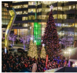 Vancouver Christmas Tree Lighting @ Vancouver Art Gallery Plaza | Vancouver | British Columbia | Canada